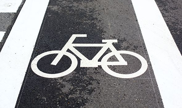 picture of a bike lane in satasota or bradenton for Heintz & Becker's bicycle accident page
