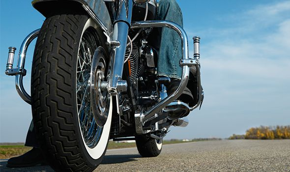 close up of a motorcyle on the motorcycle accident page for a florida injury law firm in Sarasota and Bradenton