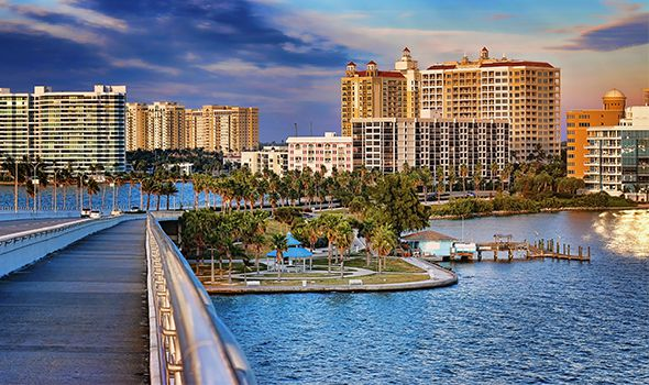 Picture of Sarasota Bridge used for the personal injury service page for Heintz & Becker, an injury law firm in Sarasota & Bradenton Florida